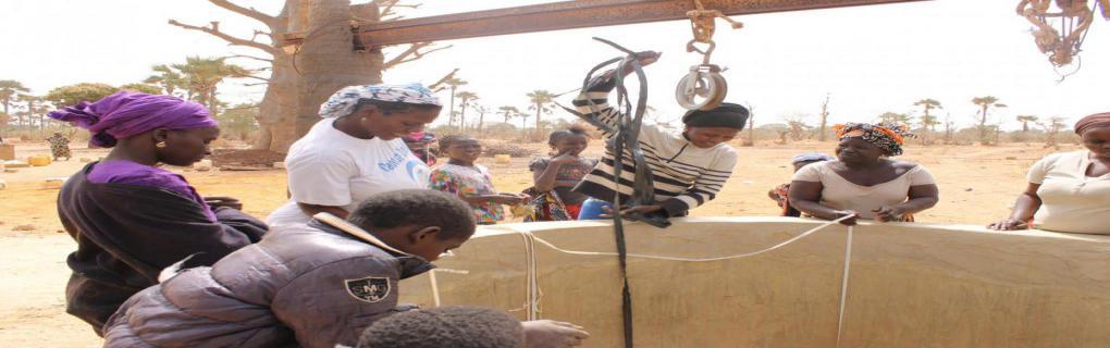 SAF Financement de Puits dans le village Touly, Thiès SENEGAL